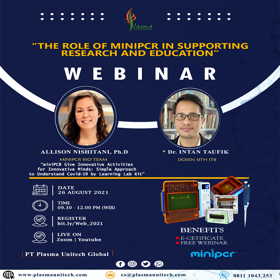 Webinar Series miniPCR for Education and Research